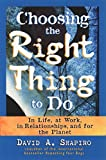 Buy Choosing the Right Thing to Do: In Life, at Work, in Relationships, and for the Planet from Amazon
