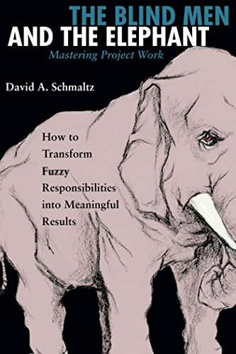 The Blind Men and the Elephant: Mastering Project Work, Schmaltz, David A.