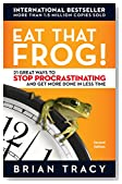 Cover of Eat That Frog!: 21 Great Ways to Stop Procrastinating and Get More Done in Less Time