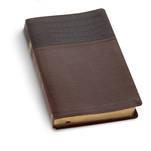The Message, Numbered Edition: Alligator brown/tan bonded leather