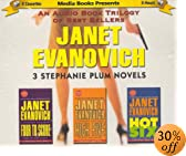 A Trilogy of Janet Evanovich: Four to Score/High Five/Hot Six by  Janet Evanovich, Debi Mazar (Narrator) (Audio Cassette - March 2002)