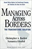 Buy Managing Across Borders: The Transnational Solution from Amazon