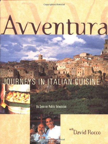 avventura journeys in italian cuisine books about italy