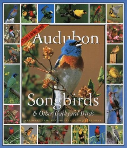 Audubon 365 Songbirds & Other Backyard Birds  Wall Calendar 2005 (Audubon Calendars 2005) by National Audubon Society (Calendar)