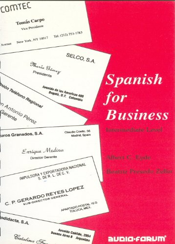 Spanish for Business (CDs and text)