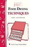 Amazon.com: Food Drying Techniques: Storey's... cover
