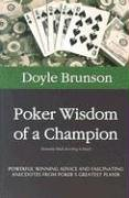 Poker Wisdom of a Champion, Brunson, Doyle