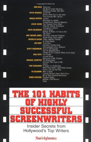Buy habits of successful screenwriters