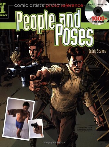 Comic Artists Photo Reference: People and Poses cover