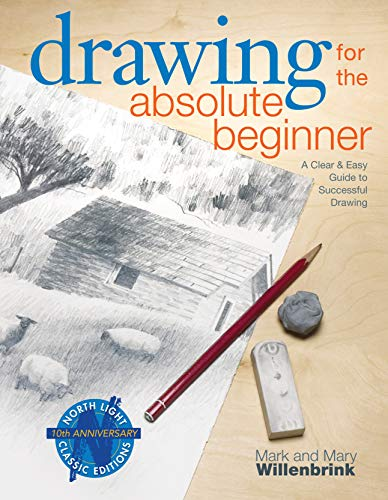 Drawing for the Absolute Beginner Book Cover Picture