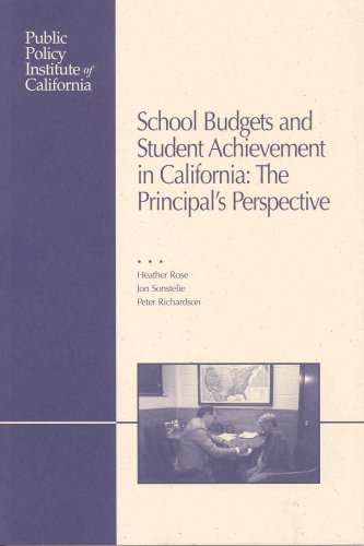 School Budgets and Student Achievement in California