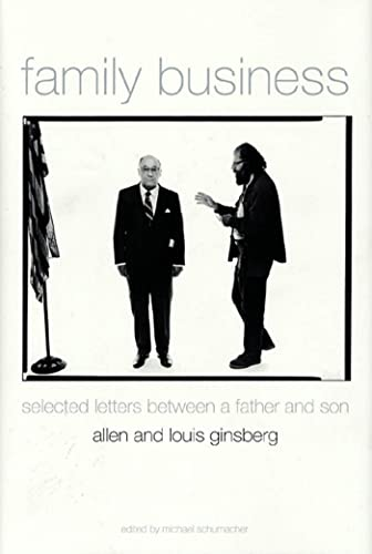 Family Business: Two Lives in Letters and Poetry, Ginsberg, Allen; Ginsberg, Louis