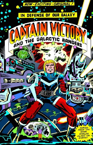 Jack Kirby Captain Victory cover
