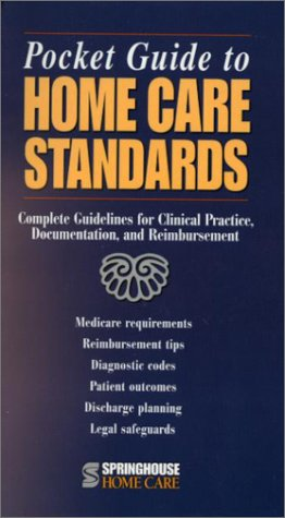 Pocket Guide To Home Care Standards