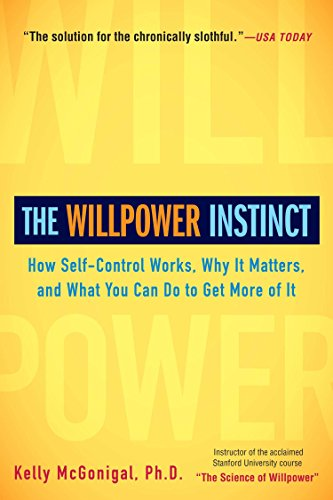 The Willpower Instinct Book Cover Picture