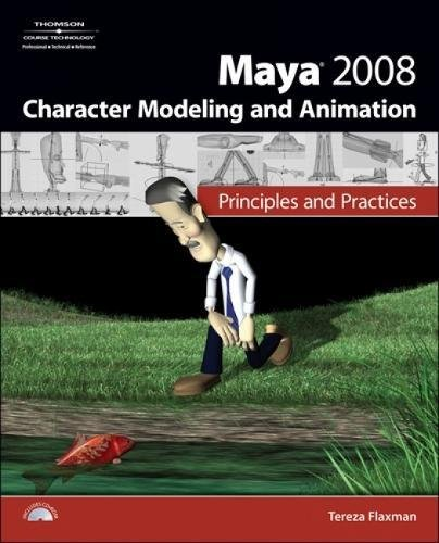 PDF Maya 2008 Character Modeling Animation Principles and Practices
