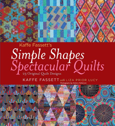 Kaffe Fassett's Simple Shapes Spectacular Quilts: 23 Original Quilt Designs