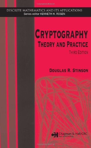 Cryptography: Theory and Practice, Third Edition (Discrete Mathematics and Its Applications) - Douglas R. Stinson