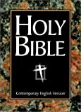 Contemporary English Version Large Print Bible