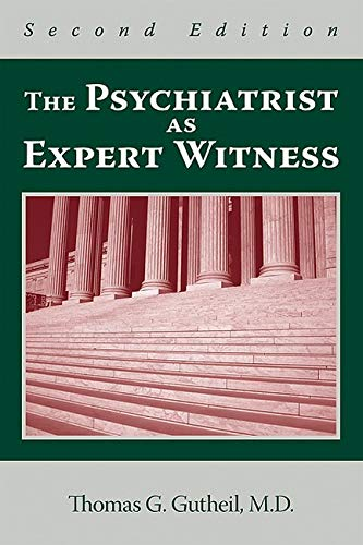 PDF The Psychiatrist As Expert Witness Second Edition