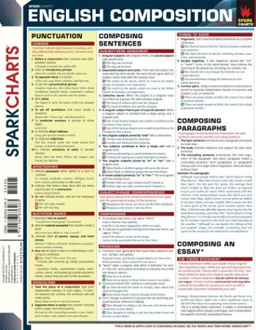 English Composition (SparkCharts), SparkNotes