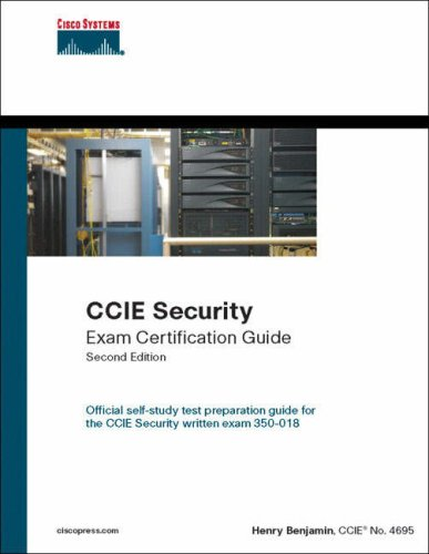 Technical CCIE Security Exam Certification Guide CCIE Self Study 2nd Edition May 2005
