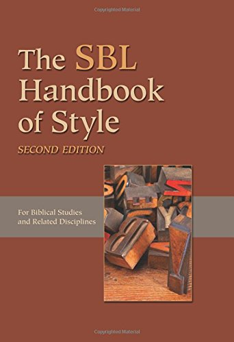 sbl style resources citation help apa mla sbl ams acs and