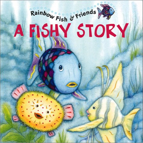 Rainbow fish book pages for Fish children s book