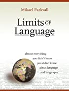 cover of Limits of Language