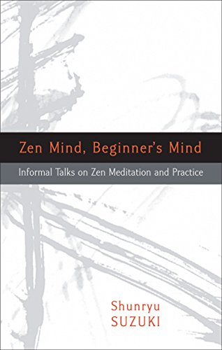 Zen Mind, Beginner's Mind Book Cover Picture