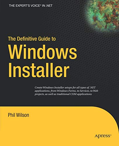 The Definitive Guide to Windows Installer (Expert