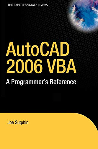 Apress AutoCAD 2006 VBA A Programmers Reference Sep 2005 eBook