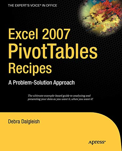 Book Cover: Excel Pivot Tables Recipe Book: A Problem-Solution Approach