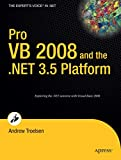 Pro VB 2008 and the .NET 3.5 platform