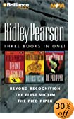 Ridley Pearson Collection: Beyond Recognition/the Pied Piper/the First Victim [ABRIDGED] by  Ridley Pearson, et al (Audio Cassette - August 2002)