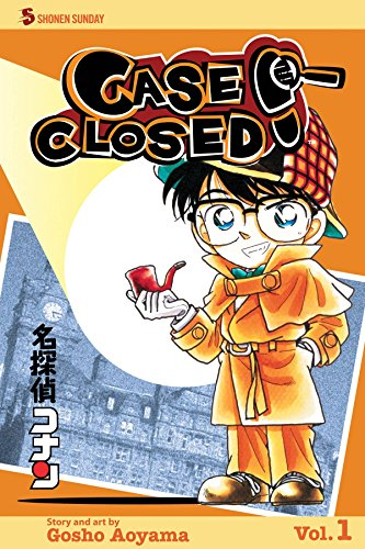 Case Closed Book 1 cover