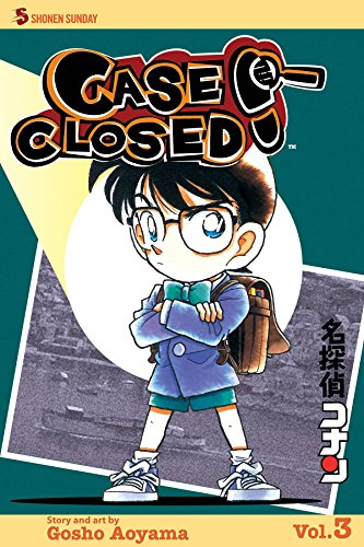 Case Closed Book 3 cover
