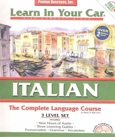 Learn in Your Car Italian: The Complete Language Course : 3 Level Set : With Carrying Case