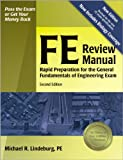 image of FE Review Manual : Rapid Preparation for the General Fundamentals of Engineering Exam