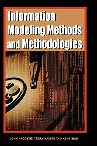 Book Cover: Information Modeling Methods and Methodologies (Advanced Topics of Database Rese