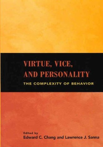Virtue, Vice, and Personality