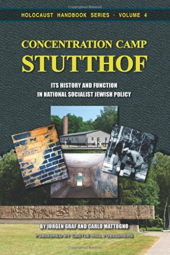 PDF Concentration Camp Stutthof Its History and Function in National Socialist Jewish Policy Holocaust Handbooks Volume 4