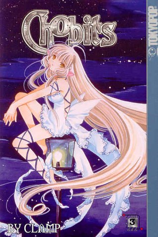 Chobits Book 3 cover