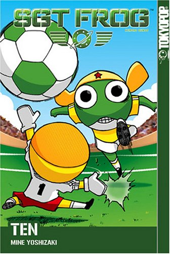 Sgt. Frog Book 10 cover