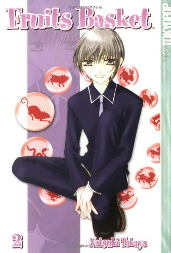 Fruits Basket Book 2 cover