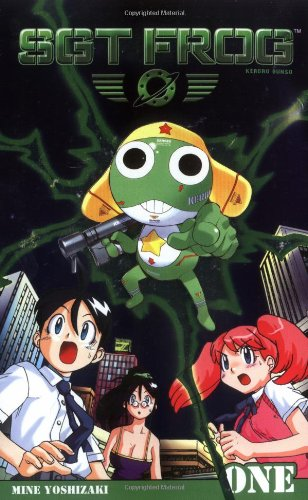 Sgt. Frog Book 1 cover