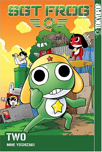 Sgt. Frog Book 2 cover