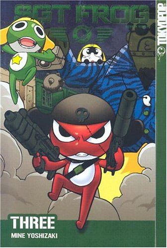 Sgt. Frog Book 3 cover