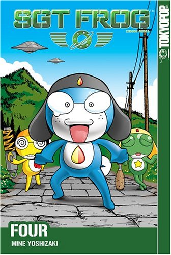 Sgt. Frog Book 4 cover