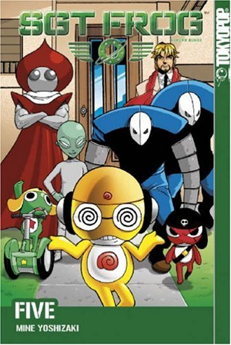 Sgt. Frog Book 5 cover